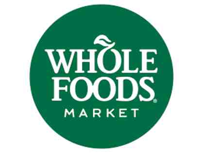 Whole Foods $100.00 Gift Card