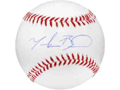 BOSTON RED SOX MOOKIE BETTS SIGNED BASEBALL