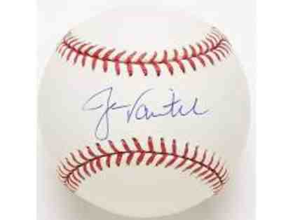 BOSTON RED SOX JASON VARITEK SIGNED BASEBALL