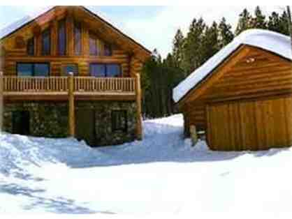 Breathtaking Breckenridge Log Cabin for One Week in Summer 2014