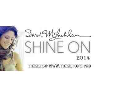 Sarah Mclachlan Shine on Tour 2014