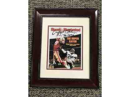 "Dwight Clark Autographed ""The Catch"""