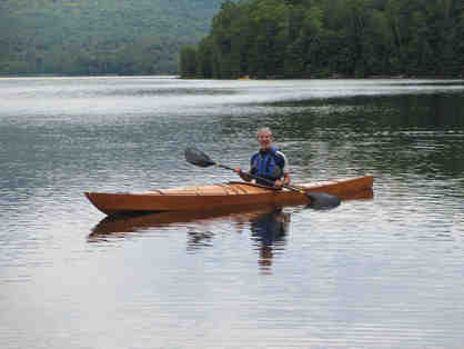 "Handmade Wood Sea Kayak ""QuickBeam"""