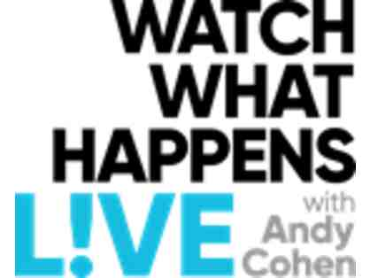 ENTERTAINMENT: Andy Cohen/Watch What Happens Live!