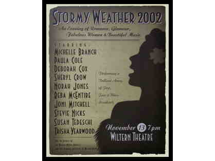 Stormy Weather, 2002 Poster