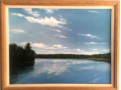 "Fine Art - ""It is the earth's eye, Walden Pond,"" Douglas Baker '96"