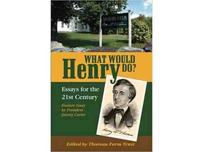"Signed by Frank Serpico! ""What Would Henry Do?: Essays for the 21st Century"""