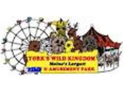 Four (4) VIP Passes to York's Wild Kingdom