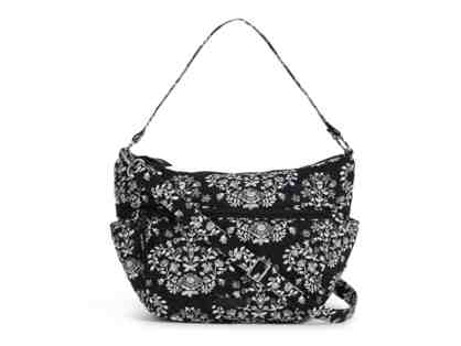 Vera Bradley Go Ahead Convertible Crossbody in Chandelier Noir