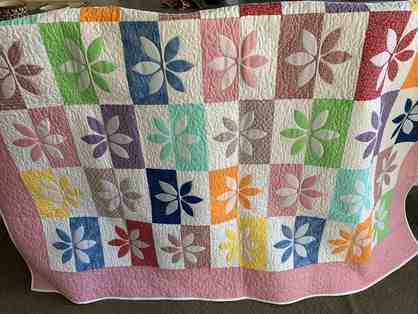 Fabulous Handcrafted Quilt