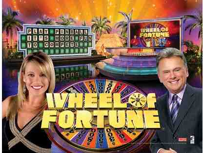 4 Passes to Wheel of Fortune + Goody Bag