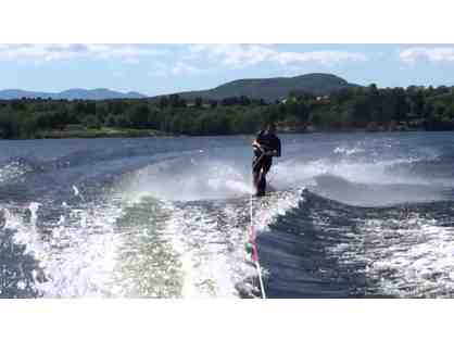 Waterskiing Instruction For Two In Shelburne Bay