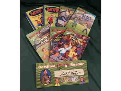 7 Autographed David A. Kelly Books and Reader Certificates