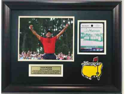 Tiger Woods Photograph - Signed