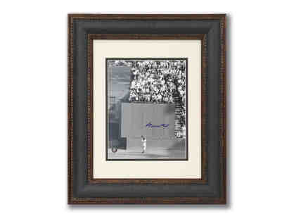 Willie Mays Framed Photograph - Signed