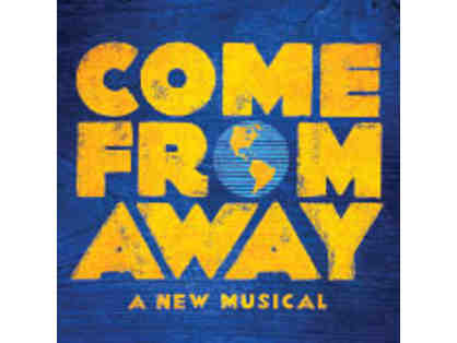 2 Tickets and Photos on Stage at COME FROM AWAY + $200 TodayTix Gift Certificate