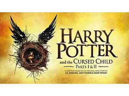 2 House Seats to HARRY POTTER AND THE CURSED CHILD PARTS 1 & 2!