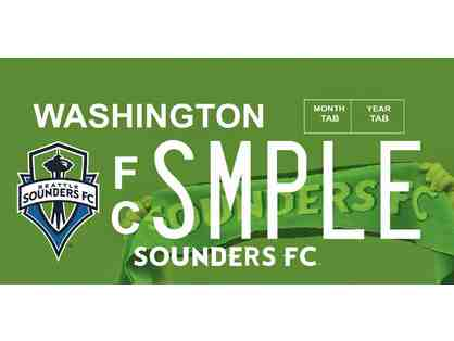 SOUNDERS FC TEAM LOGO LICENSE PLATE #10