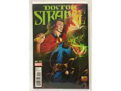 Marvel Collectible: Dr Strange #1 Limited Variant Edition Autographed by Joe Quesada