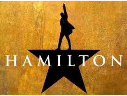 4 Hamilton Tickets for Pantages on September 16, 2017, 2:00 pm
