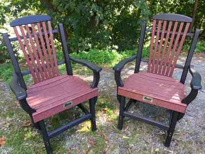 Outdoor Chairs - Set of Two