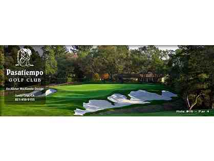 Live Auction Only! Four Rounds of Golf with Carts at Pasatiempo