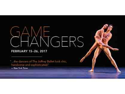 Two Tickets to the Joffrey Ballet's Winter Production of Game Changers