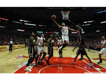 GO BULLS! Chicago Bulls Tickets for Two, Overnight Hotel Stay and Car Service