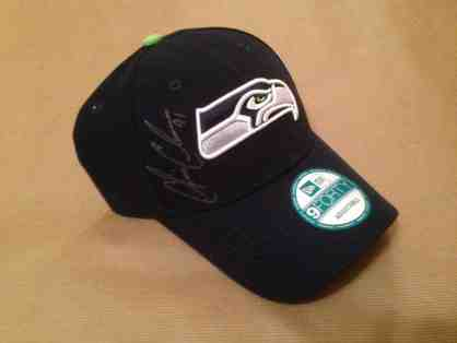 Autographed Seattle Seahawks Hat