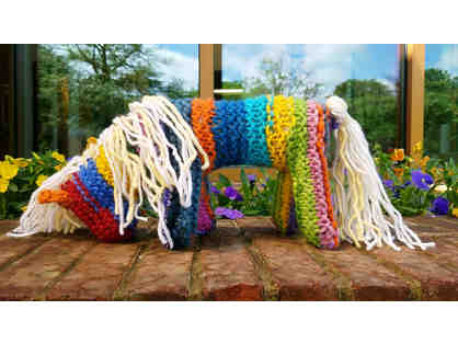 Cute Knit Horse by the First Grade
