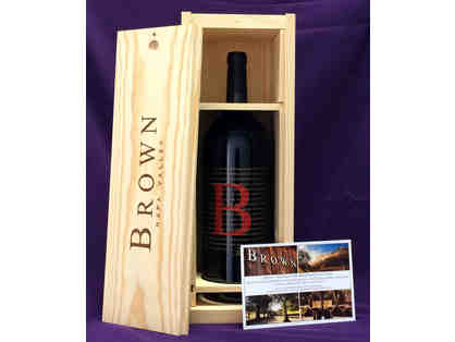 Brown Estate - 1.5L 2013 Zin + Tour & Tasting for 4 Guests