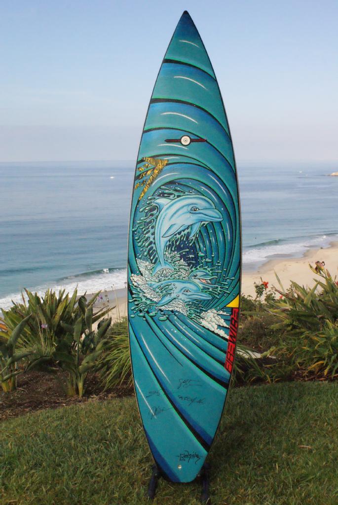 Tavola da surf di Hawaii Five-0, firmata dal cast di Hawaii Five-0 ...